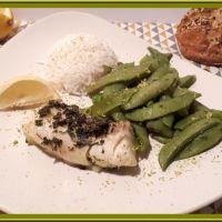 Cabillaud et pois gourmands au Cookéo