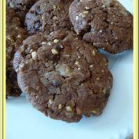 Cookies aux pralins et pépites de chocolat