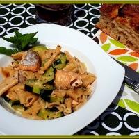 Pâtes au saumon et aux courgettes au Cookéo