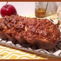 Cake du matin aux flocons d'avoine et pommes