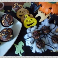 Friandises d'Halloween - Cupcakes vanillés