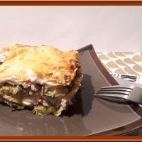 Lasagne aux poireaux et thon
