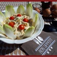 Salade d'œufs sans mayonnaise