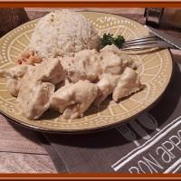 Poulet au curry lait de coco et noix de cajou