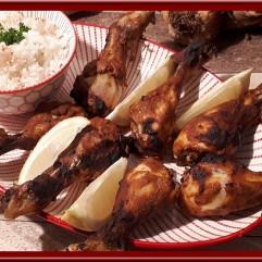 Pilons de poulet tandoori au four
