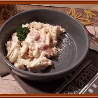 Gratin de macaronis aux fromages