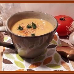 Soupe de tomates au sarrasin