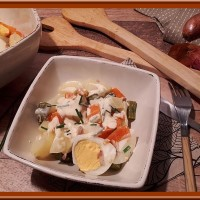 Salade de pommes de terre Tchèque