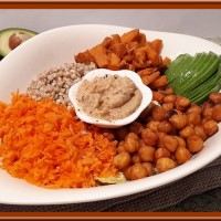 Buddha bowl aux patates douces