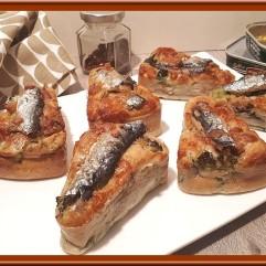 Minis cakes aux sardines et brocolis