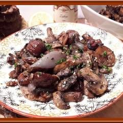 Châtaigne et champignons au Zathar