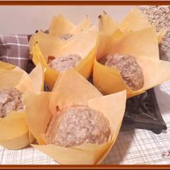 Muffins banane flocon avoine