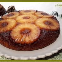 Gâteau renversé à l'ananas de Cyril Lignac