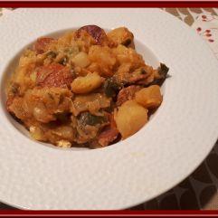 Chorizo aux pommes de terre et poireaux avec ou sans Cookéo