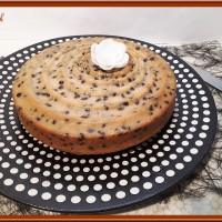 Gâteau aux pépites de chocolat noir