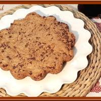 Cookie géant au chocolat et beurre de cacahuètes