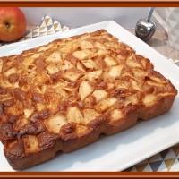 Gâteau pommes et spéculoos