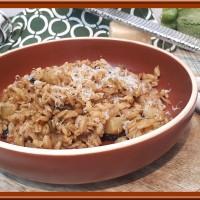 Blé aux courgettes et tomates séchées avec le Cookéo