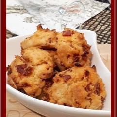 Cookies au chorizo tomates séchées
