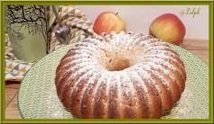 Gâteau au yaourt grec et pommes