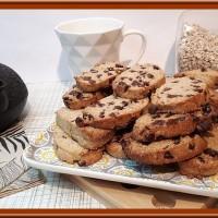 Biscuits aux flocons d'avoine et pépites de chocolat