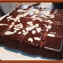 Gâteau au Nutella amande