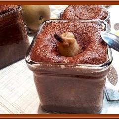 Moelleux fondant aux poires chocolat