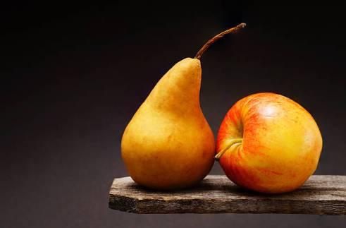Pommes, poires