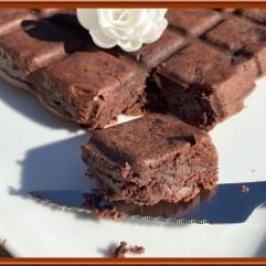 Brownie à la crème de marrons